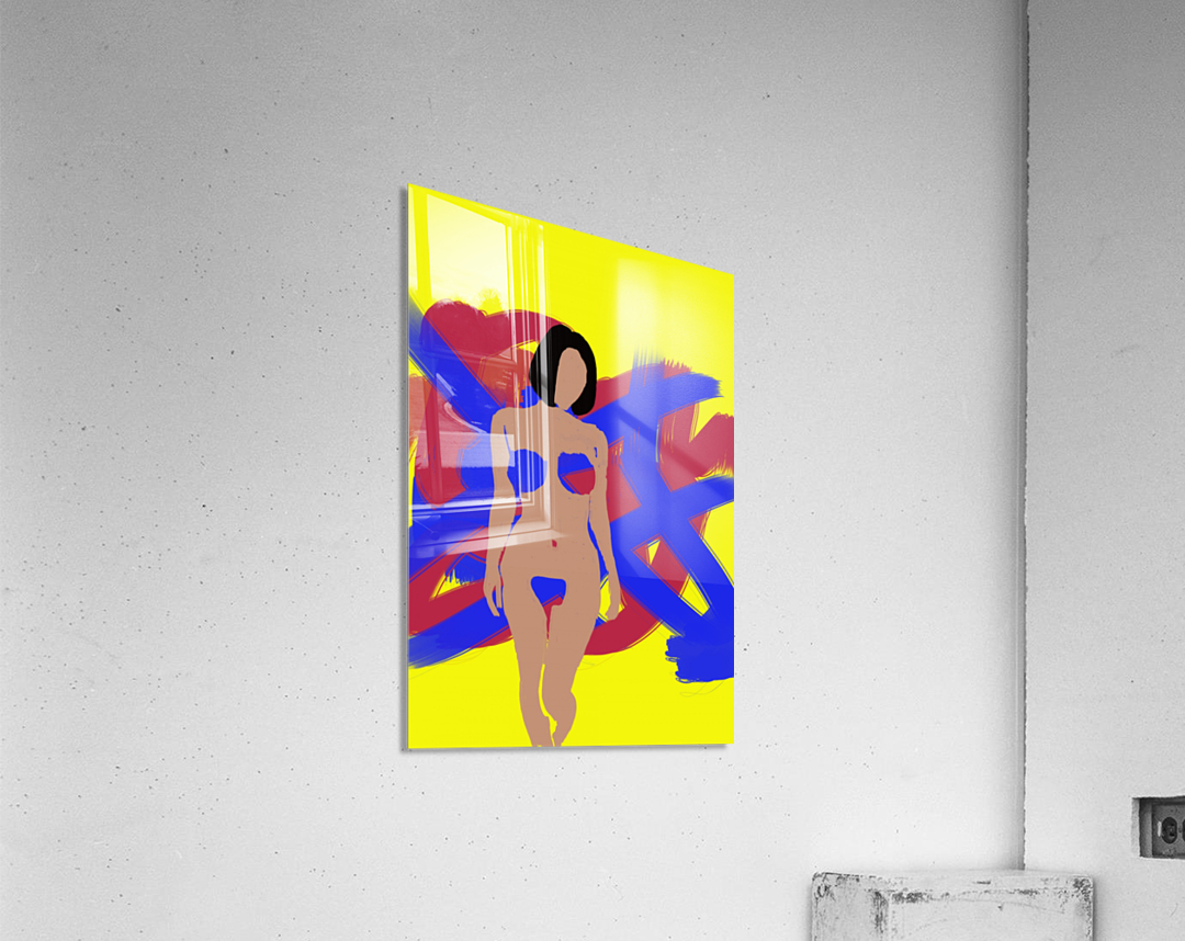 Female  Acrylic Print