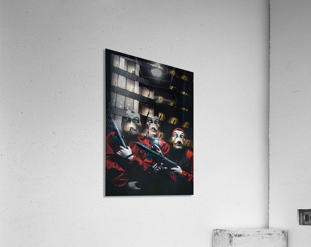 La Selfie  Acrylic Print