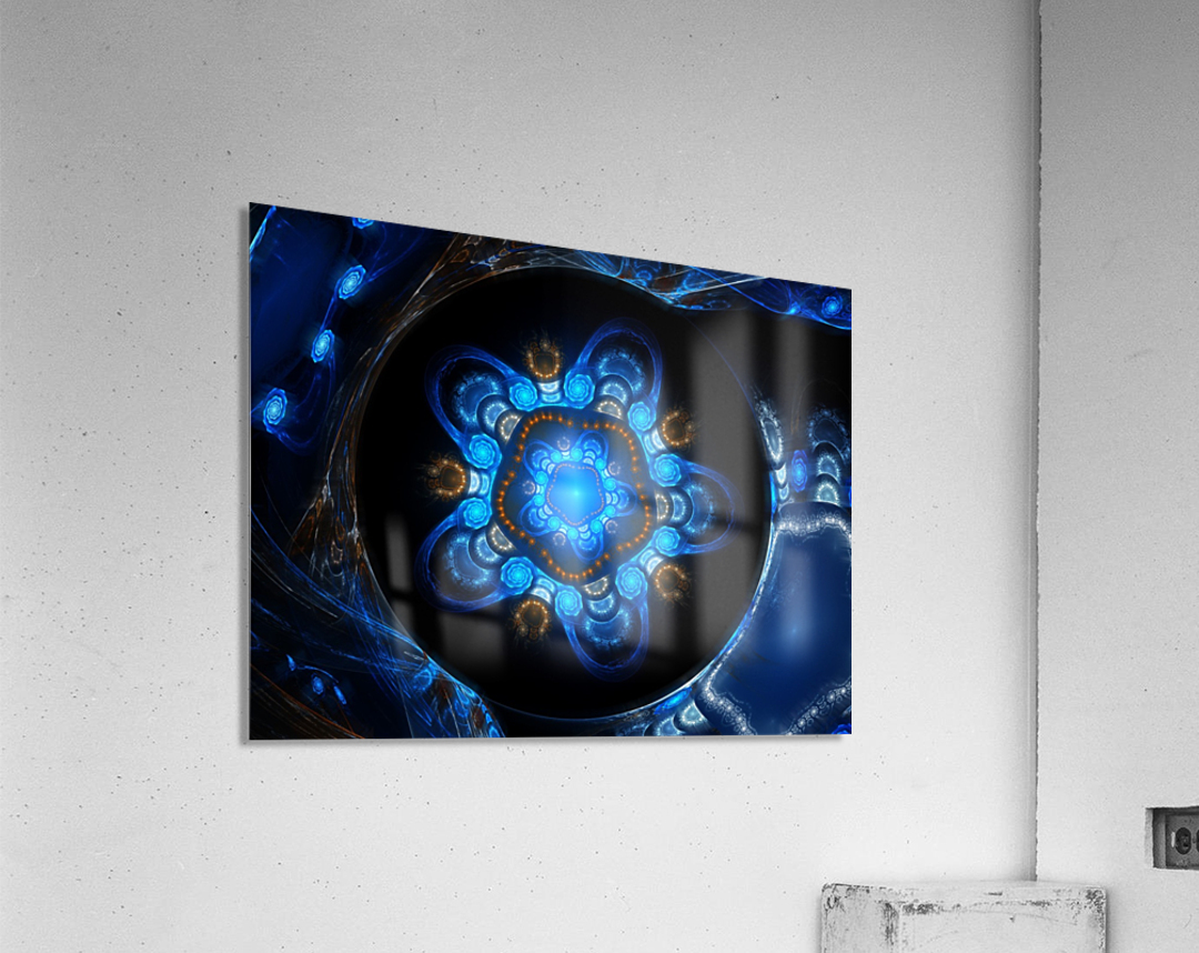 A place for your tears  Acrylic Print