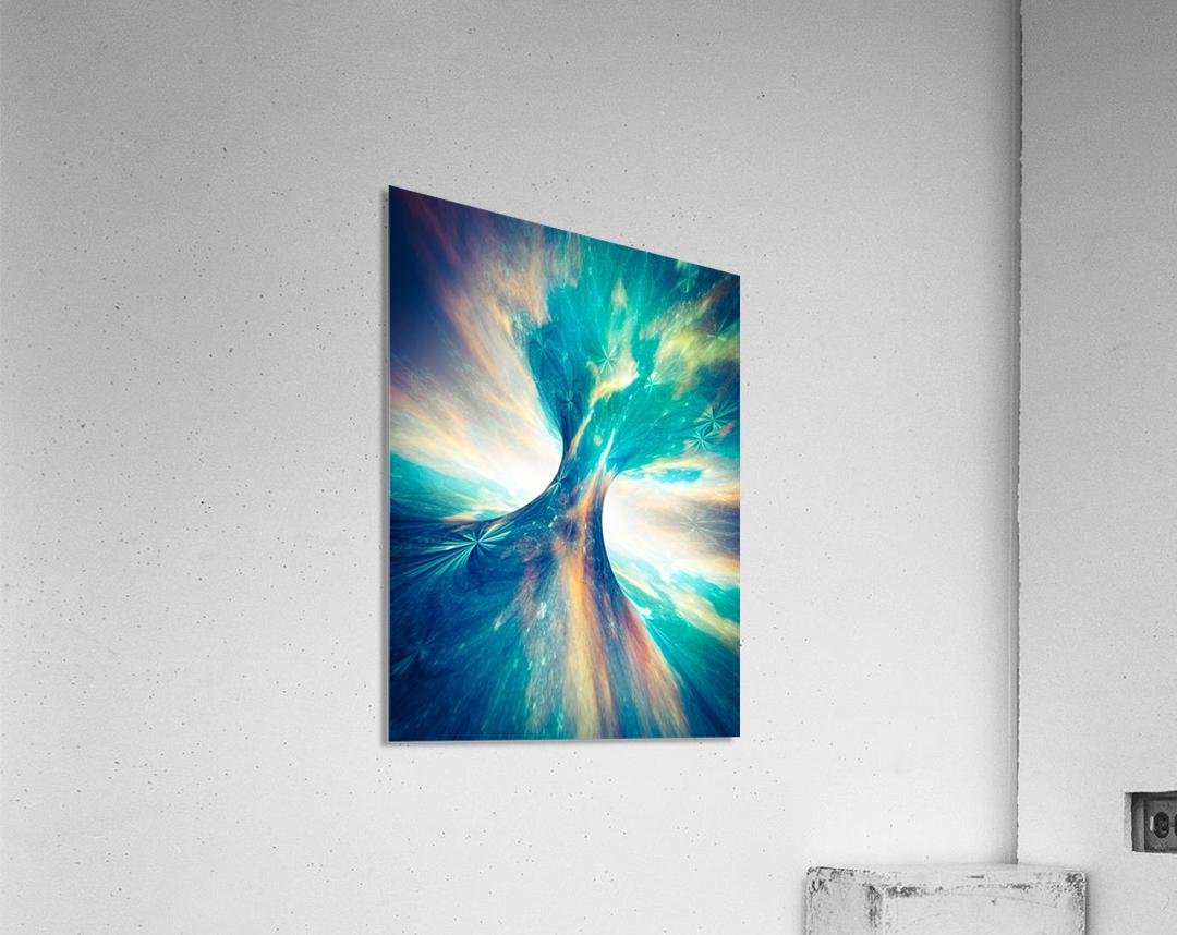 The Crab Nebula Bridge  Acrylic Print