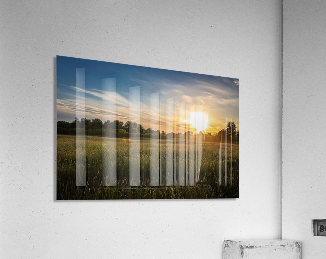 Creekside Sunset 1  Acrylic Print