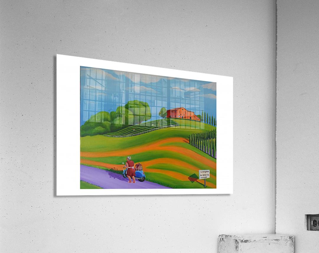 Vino In Vendita  Acrylic Print