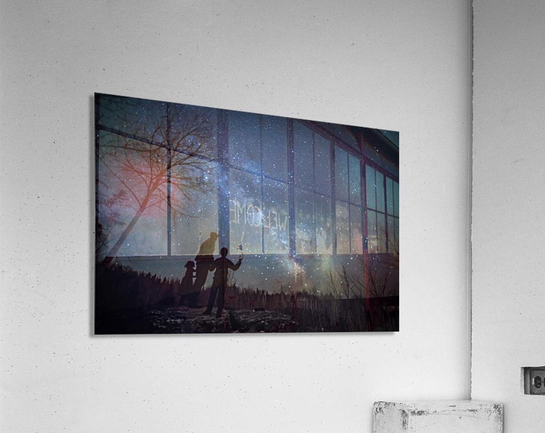 River of Heaven  Acrylic Print