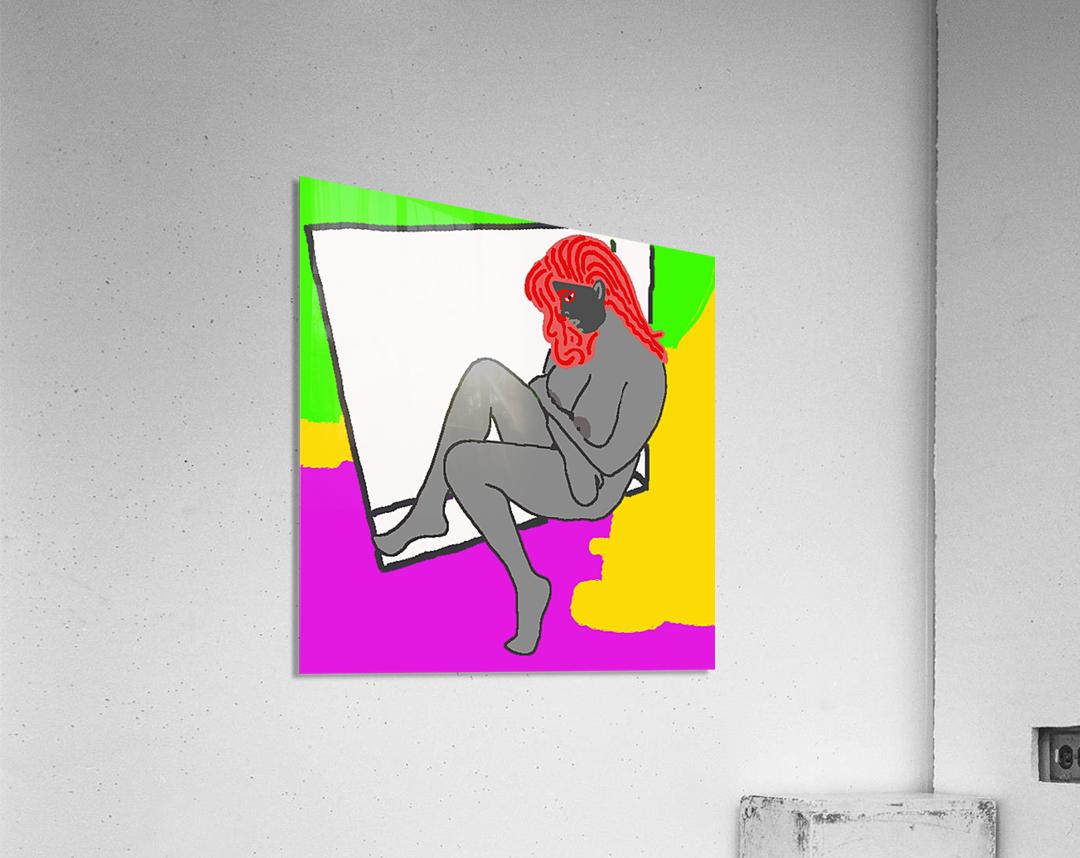 AI Woman  Acrylic Print