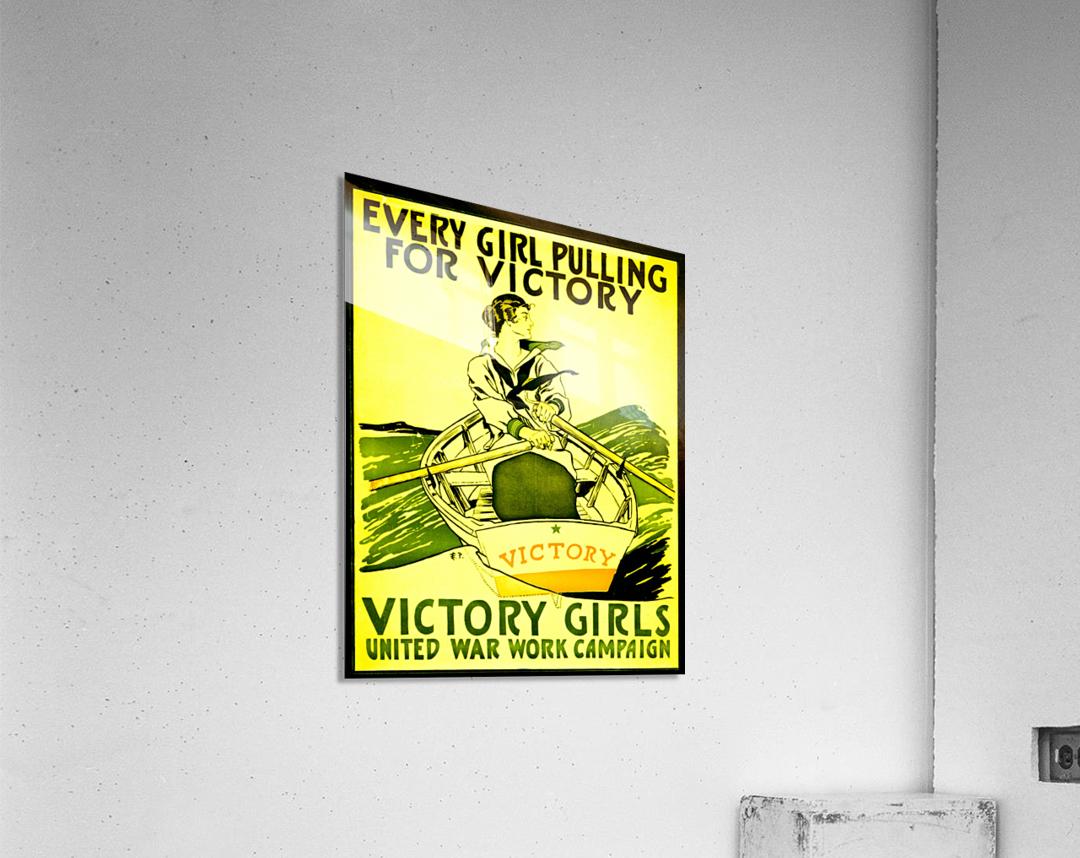 Victory Girls  Acrylic Print