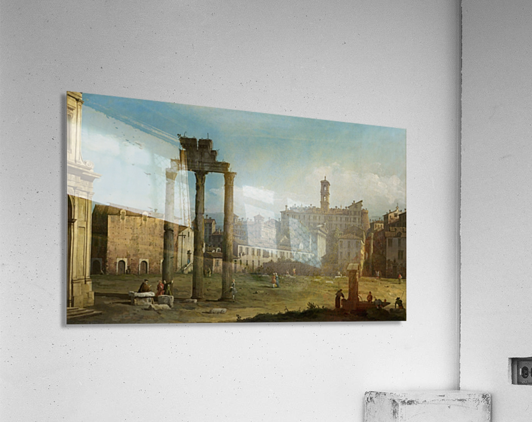 Ruins of the Forum, Rome  Acrylic Print