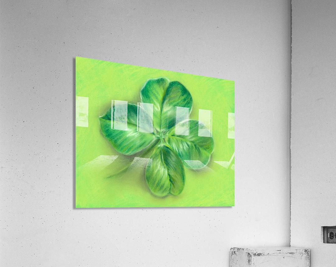Lucky Four Leaf Clover  Acrylic Print