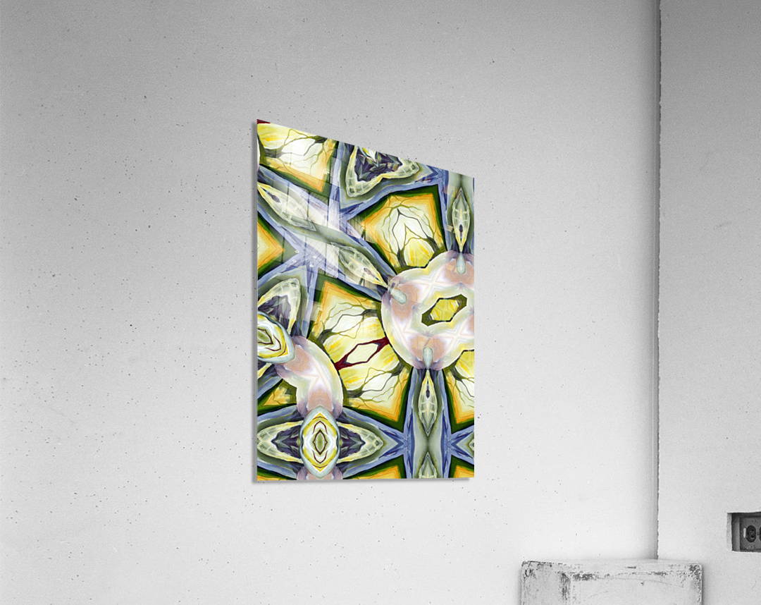 Artdeco Biophilia   Acrylic Print