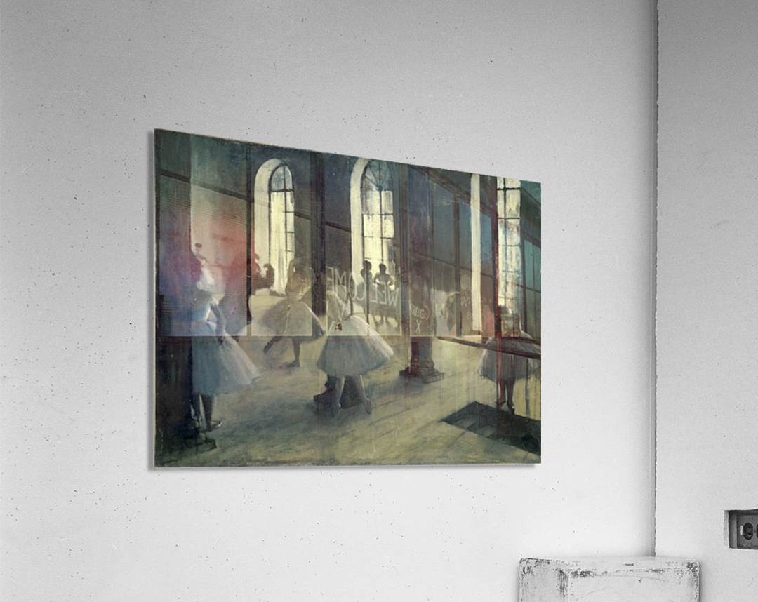 La Repetition au foyer de la danse by Degas  Acrylic Print