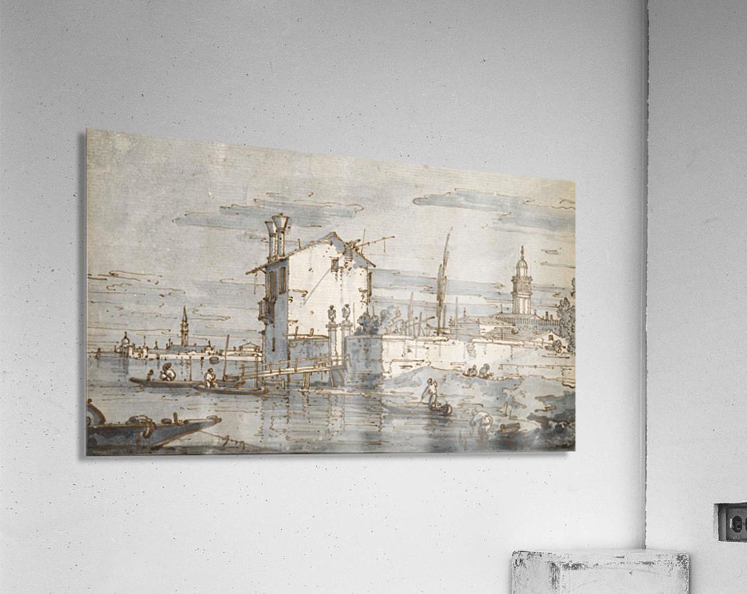 An Island in the Lagoon  Acrylic Print