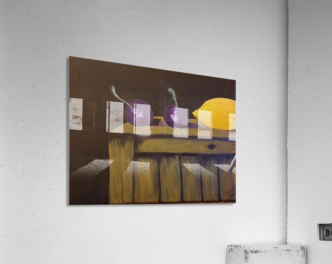 Lemon and Plums  Acrylic Print
