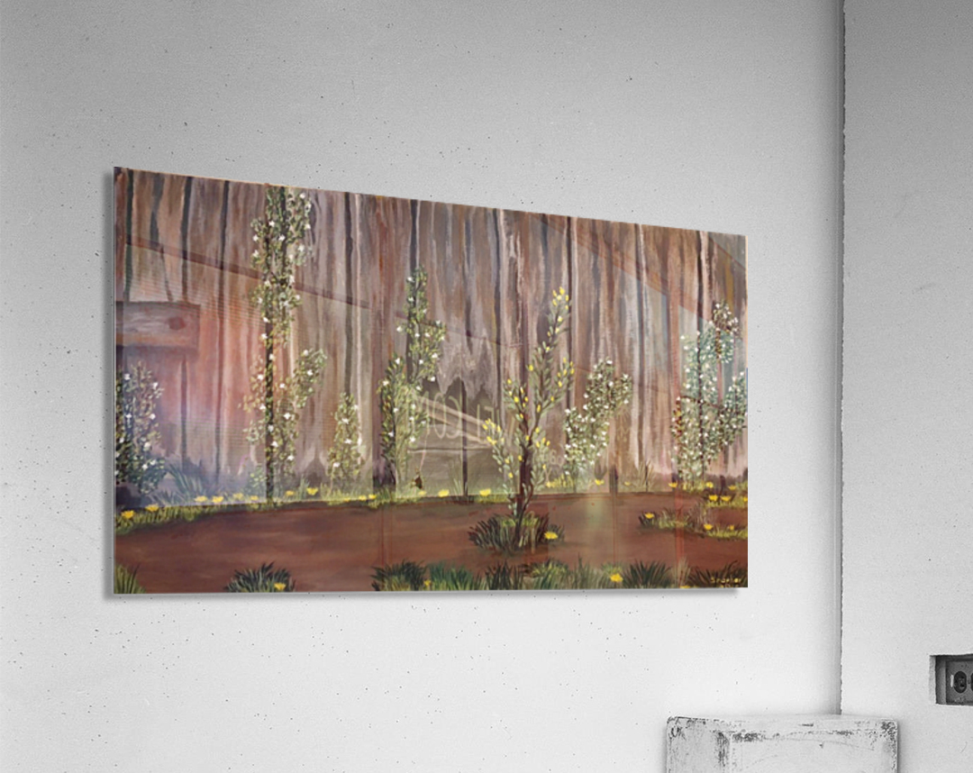Summer blossms  Acrylic Print