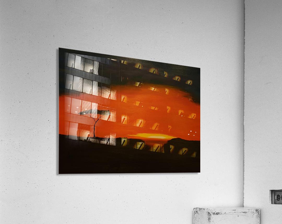 Sunrise of Serengeti  Acrylic Print