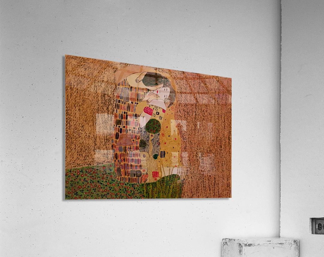 Kiss by Klimt  Acrylic Print