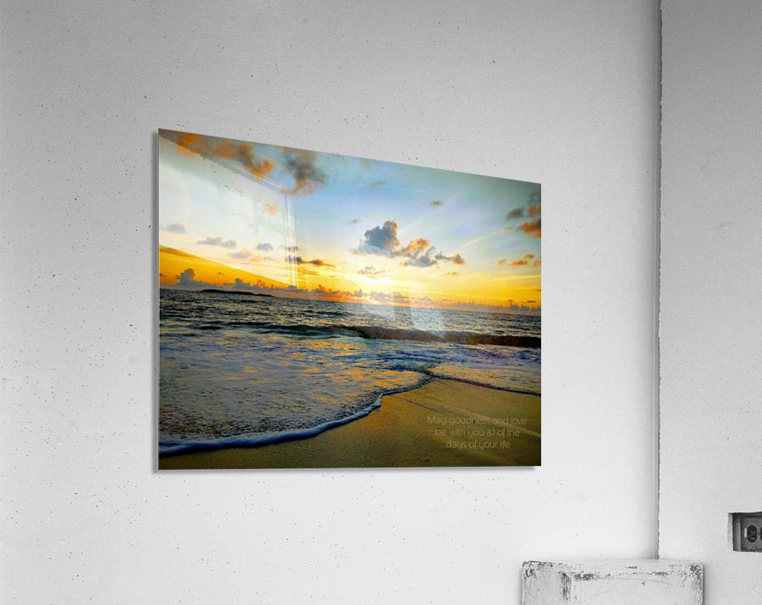 Goodness_and_love_bahamas  Acrylic Print