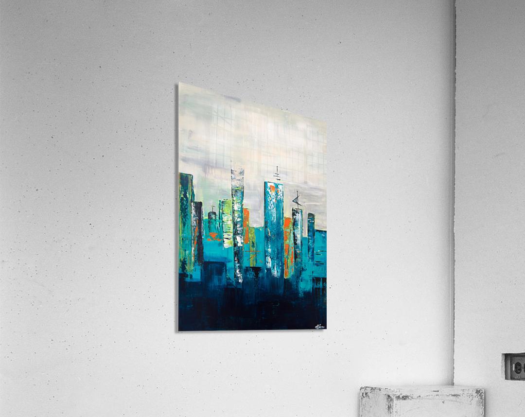 Uptown II  Acrylic Print