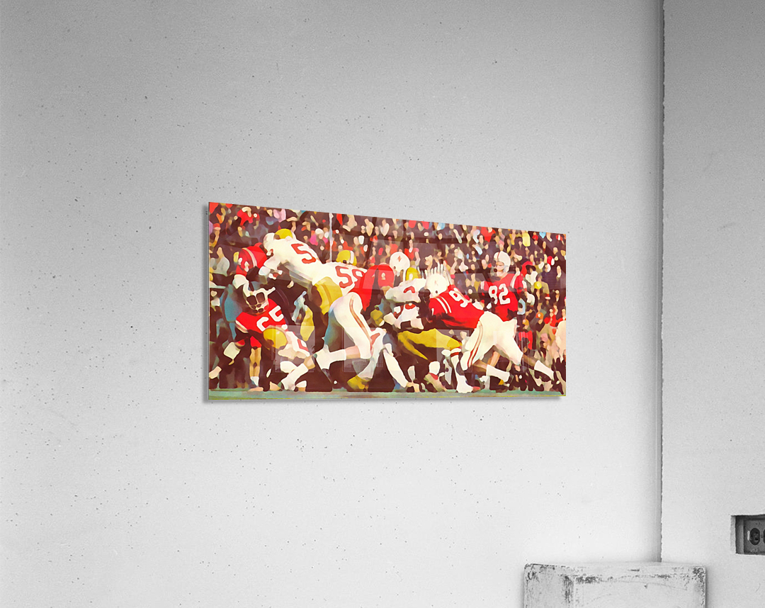 Saturday Afternoon In Lincoln  Acrylic Print