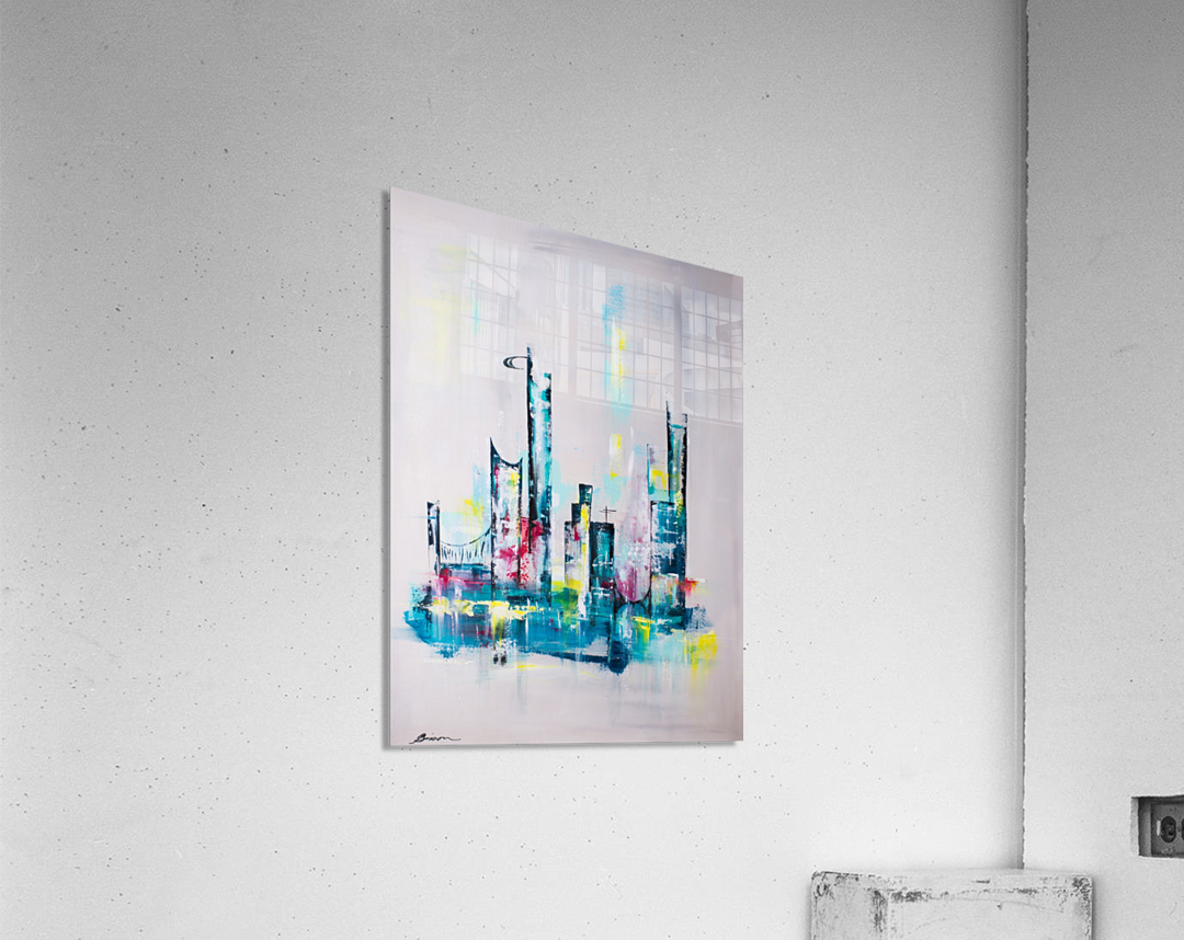 Uptown  Acrylic Print