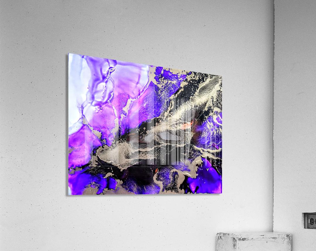 Purple Mirage II  Acrylic Print