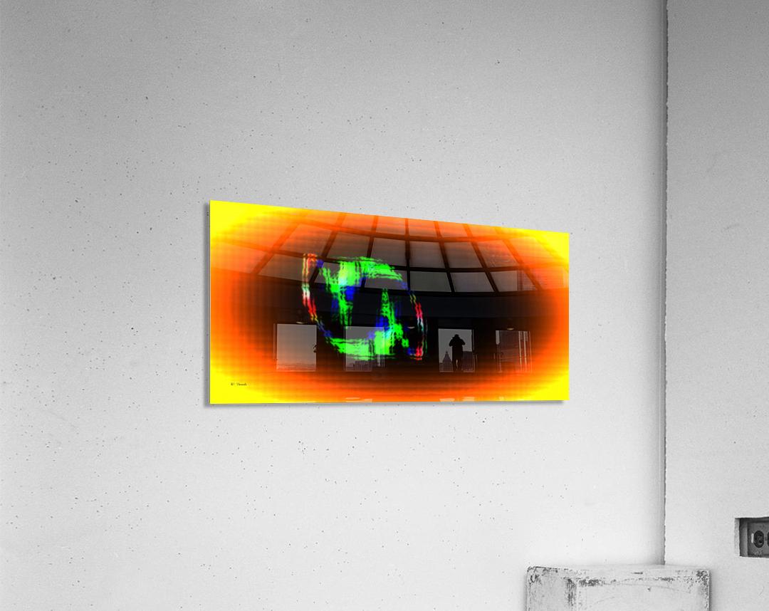 Fractal Design 16  Acrylic Print