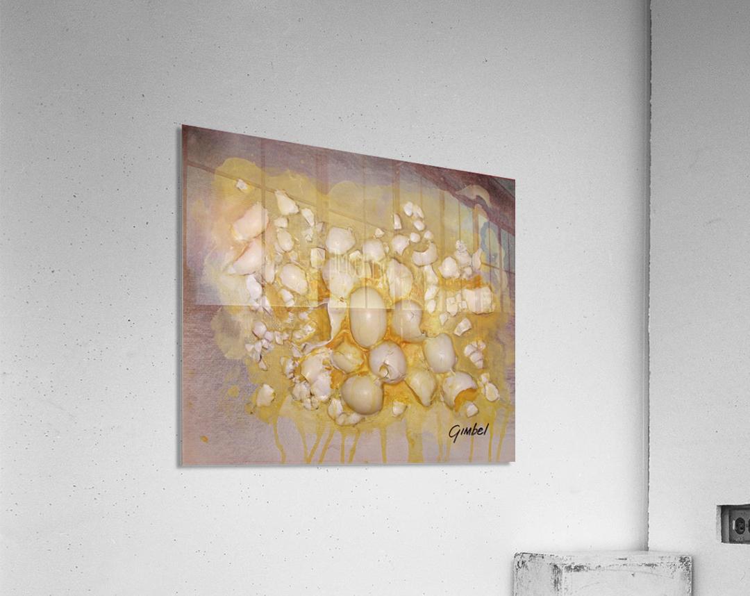 scrambled eggs  Acrylic Print