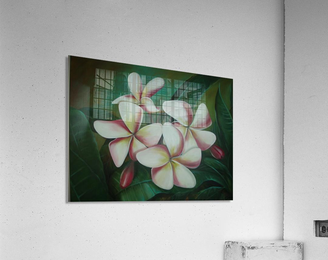 plumaria  Acrylic Print