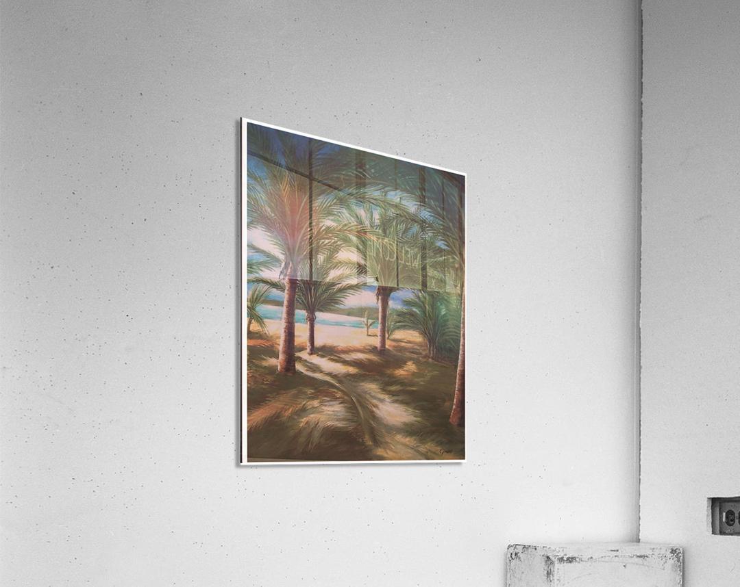 Shady beach  Acrylic Print