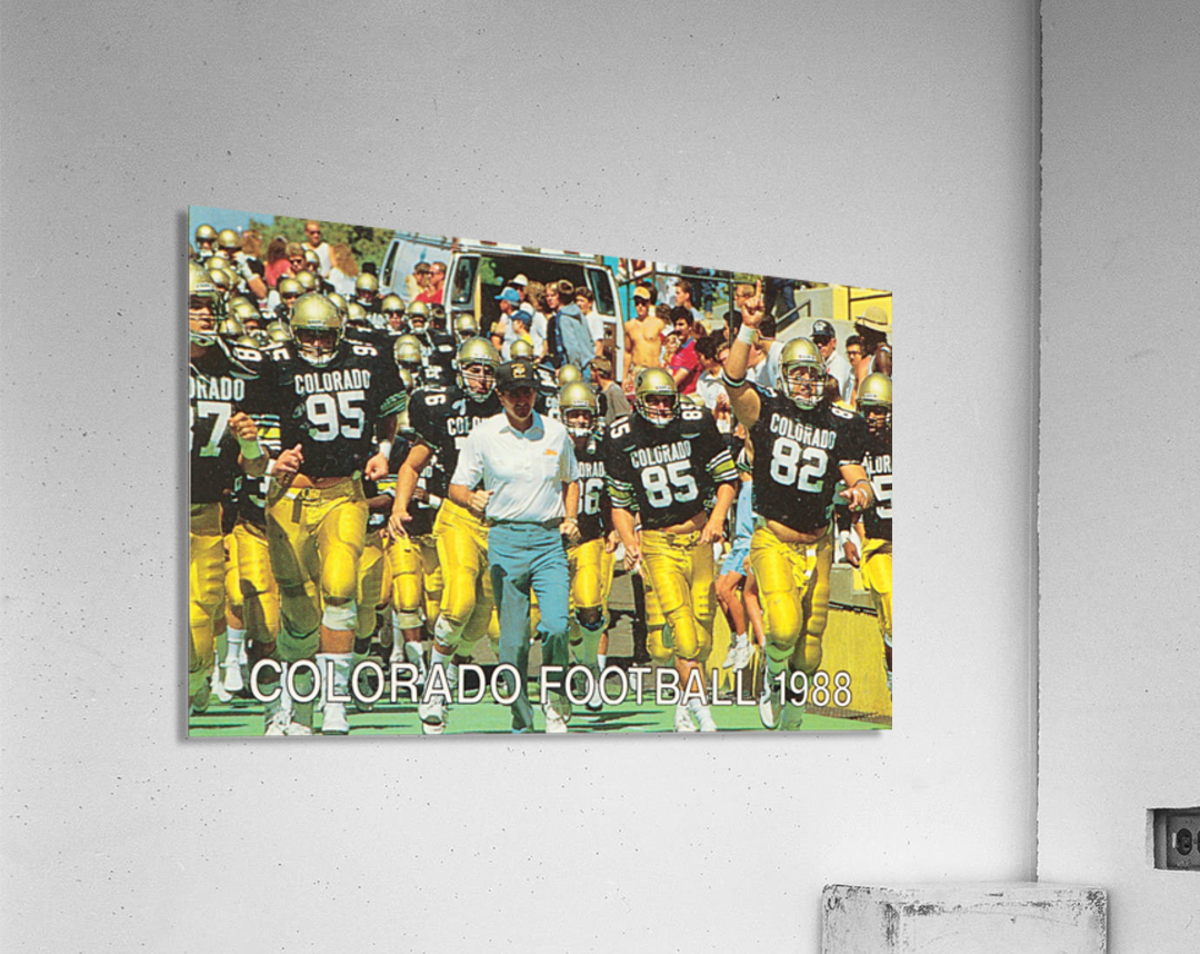 1988 colorado football  Acrylic Print
