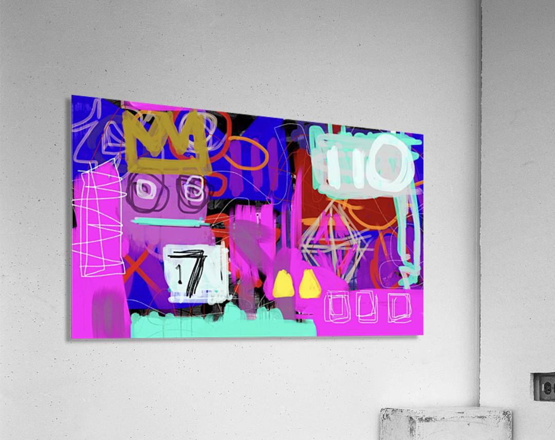 Lucky 17 ED  Acrylic Print