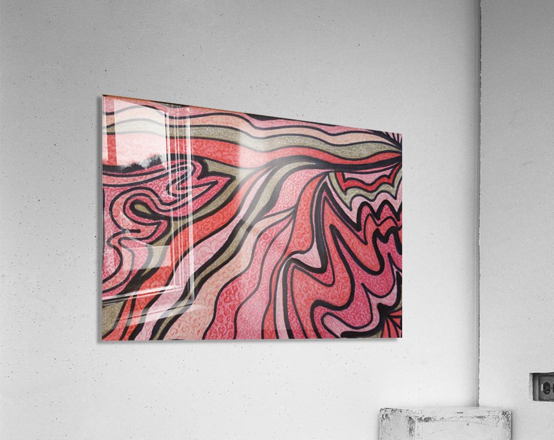 PrideFlame   Acrylic Print