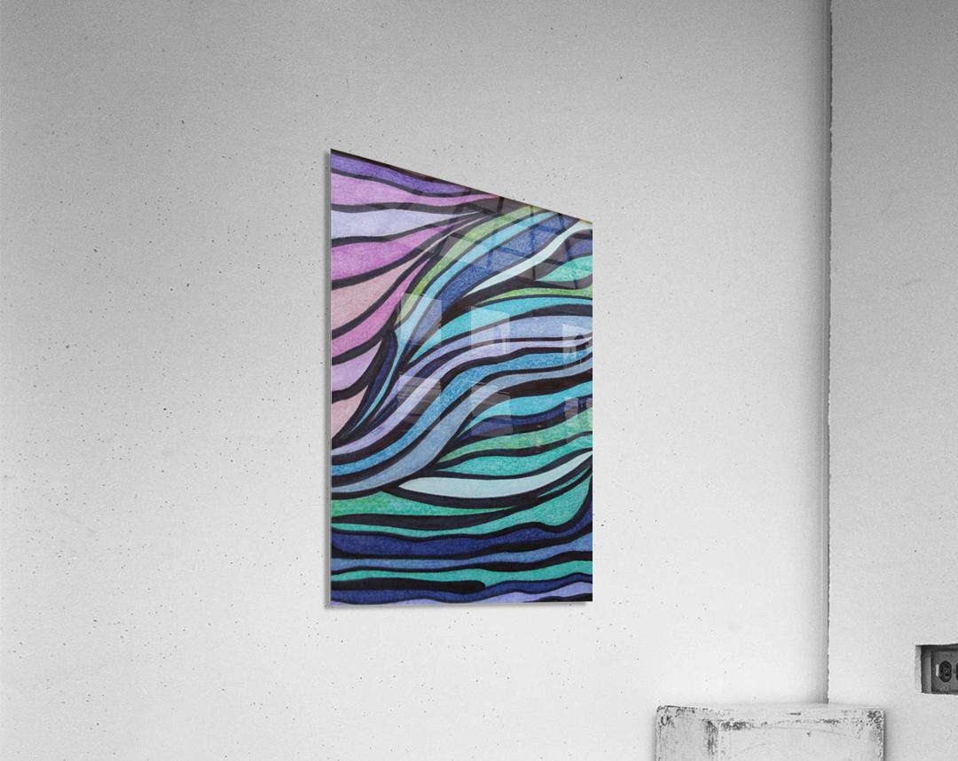 Lone Tide   Acrylic Print