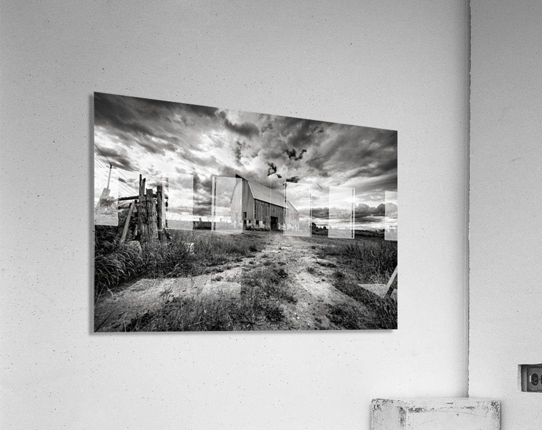 The Barnyard  Acrylic Print
