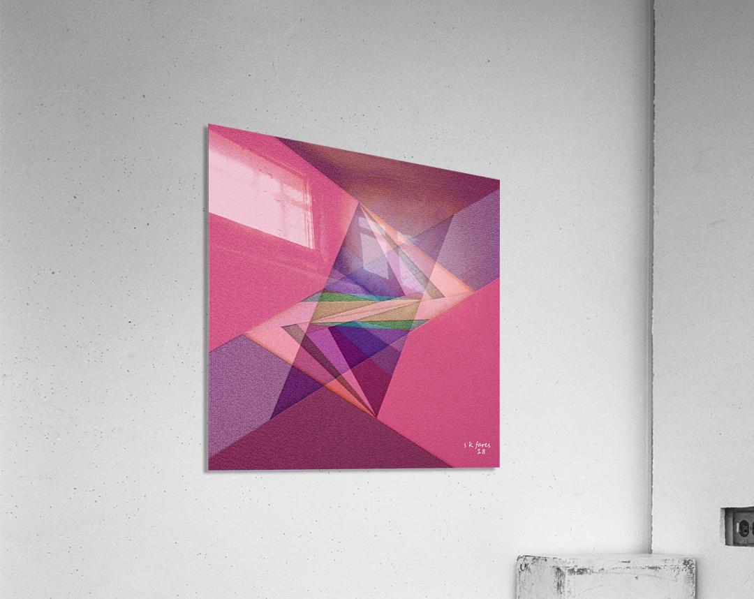 ABSTRACT ART 07  Acrylic Print