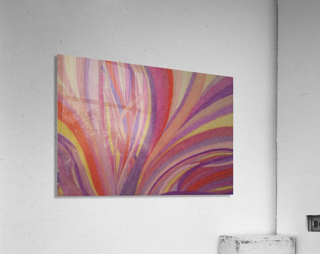 Secret Fields  Acrylic Print