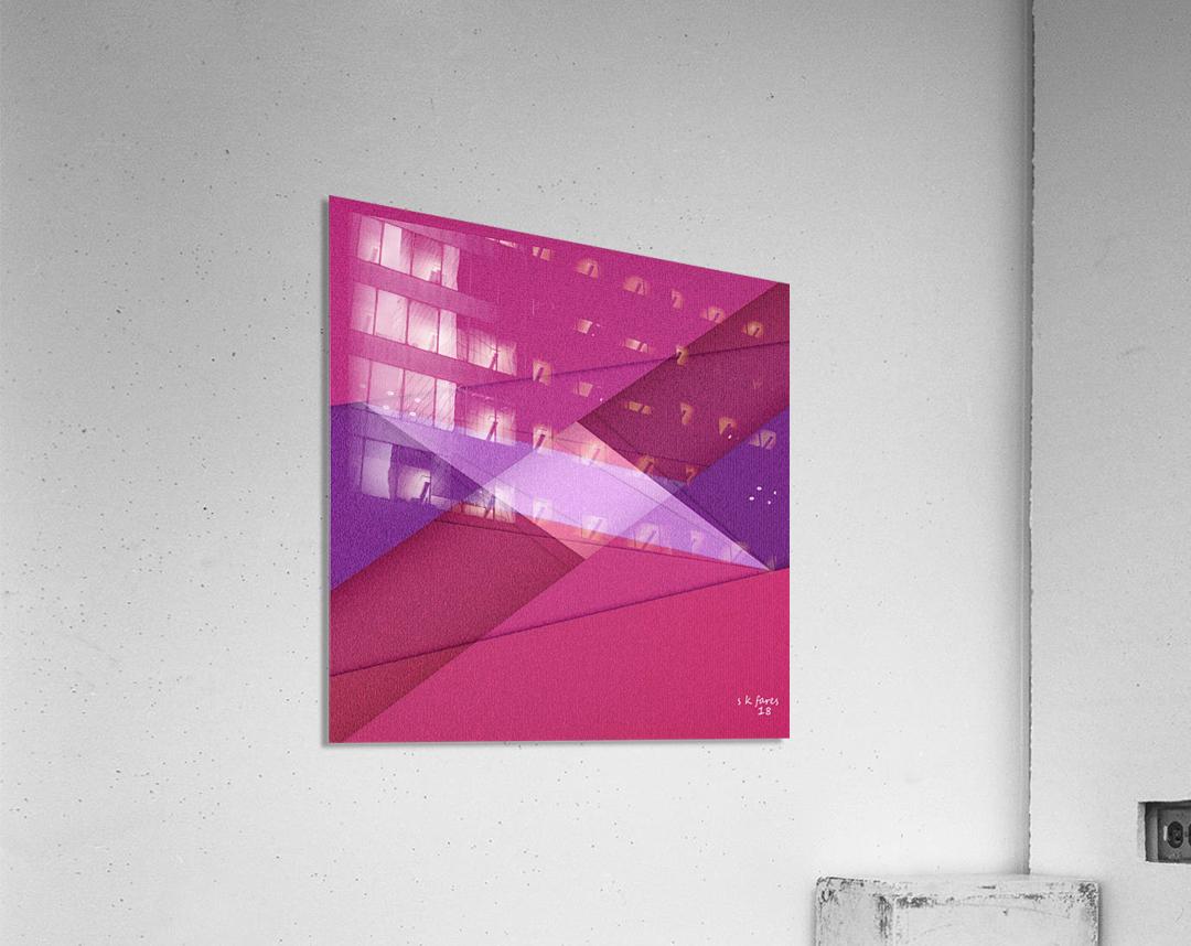 ABSTRACT ART 11  Acrylic Print