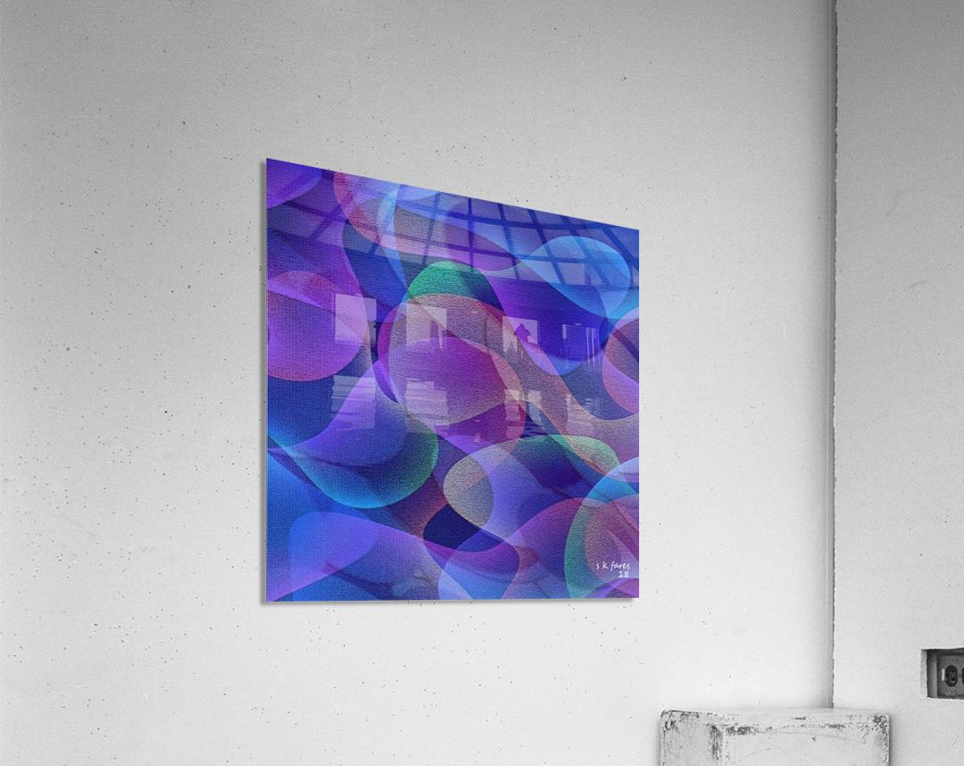 ABSTRACT ART 24  Acrylic Print