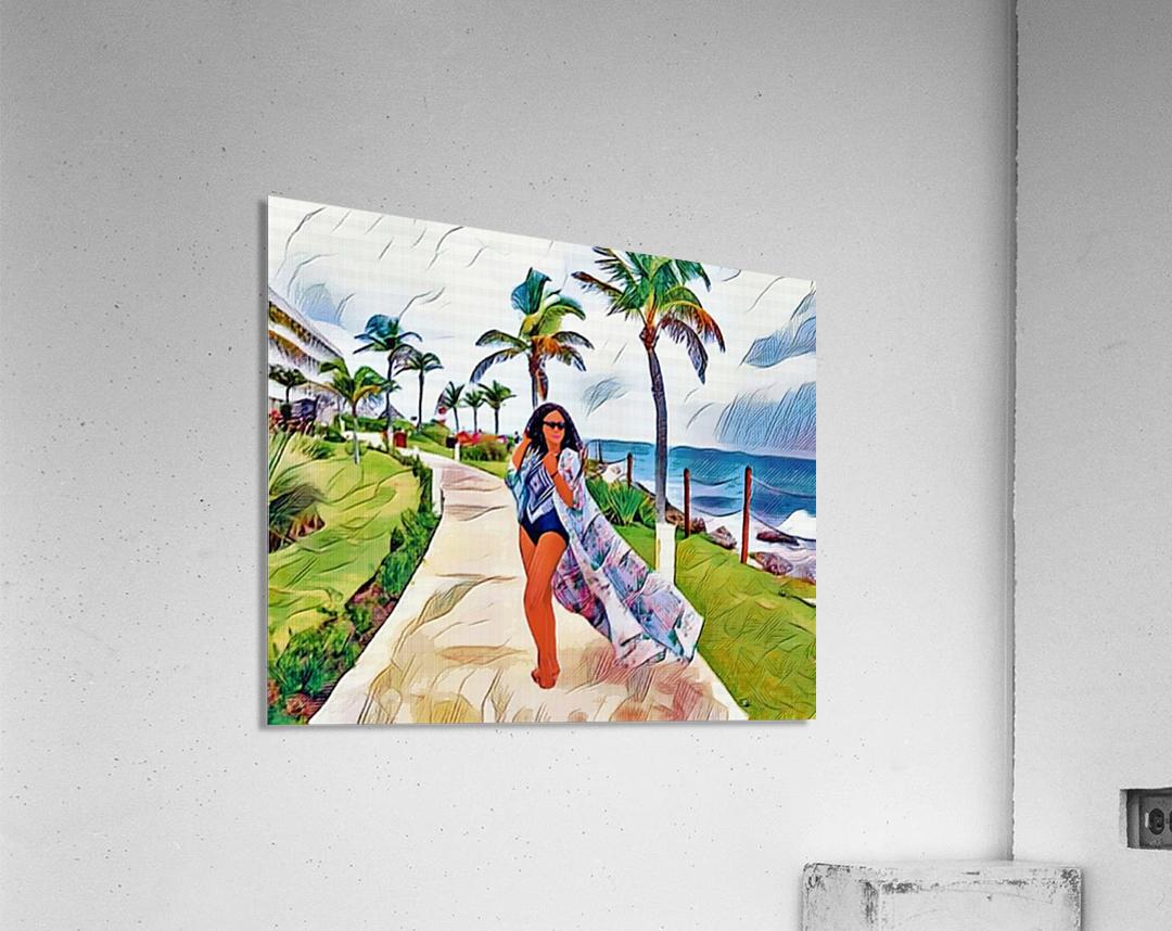 Explore  Impression acrylique
