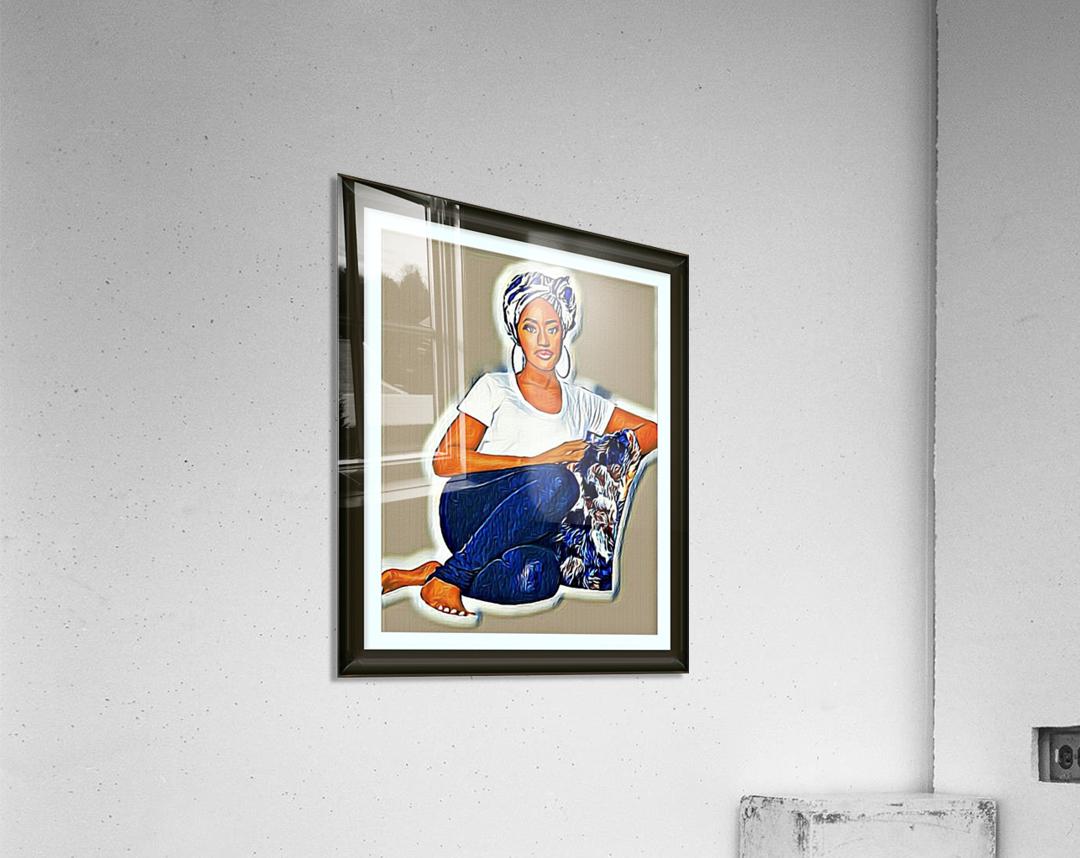 Modest  Acrylic Print