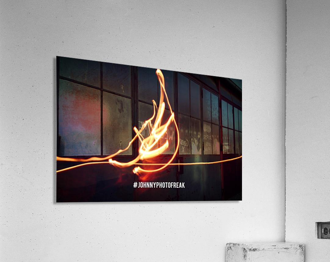 Fire leaf  Acrylic Print