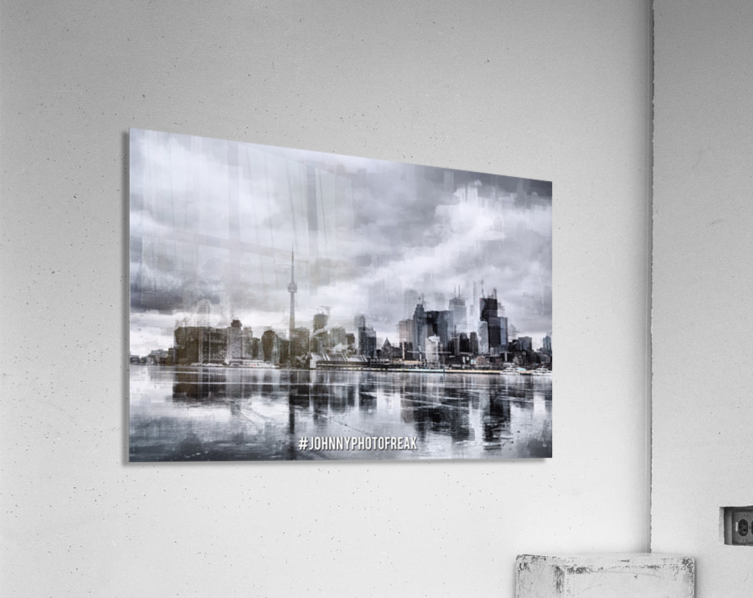 Toronto on the ice   Acrylic Print