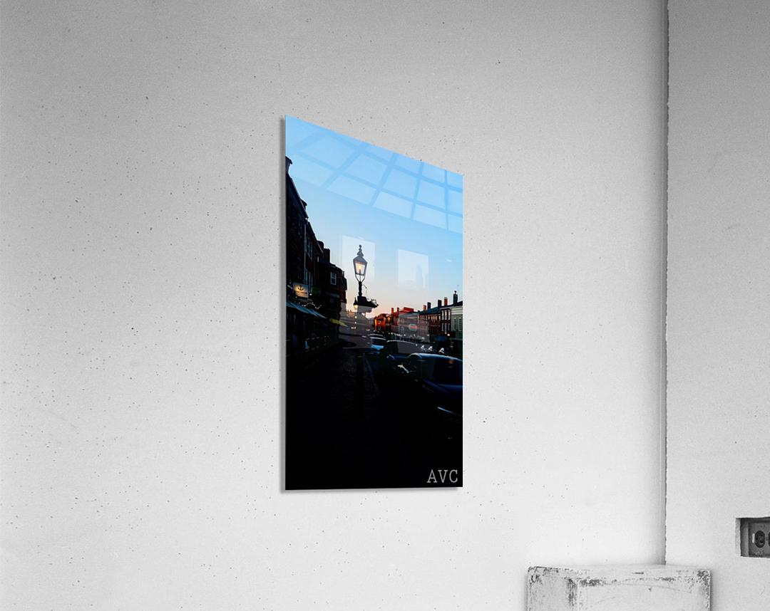 Main Street Newburyport  Impression acrylique