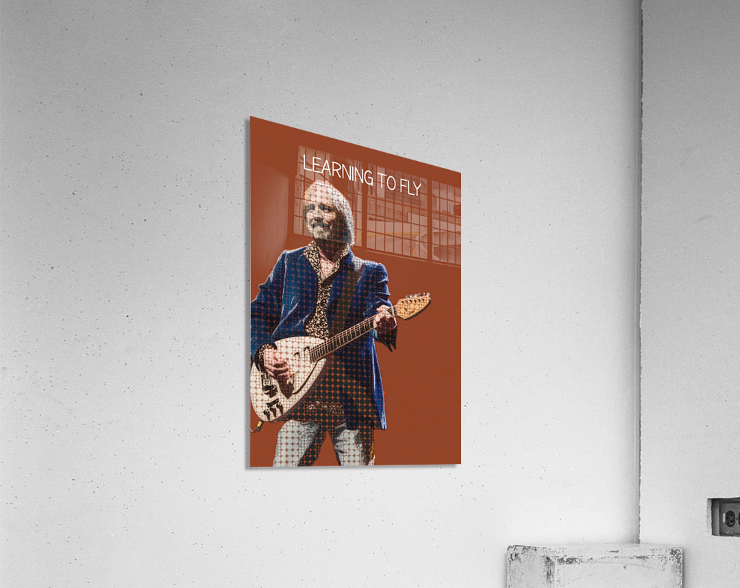 Learning To Fly   Tom Petty & the Heartbreakers  Acrylic Print