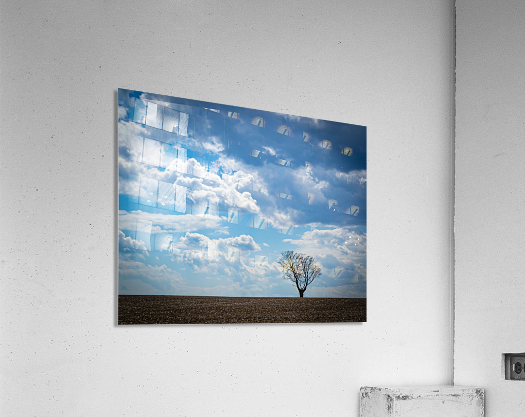 Alone With My Thoughts  Acrylic Print