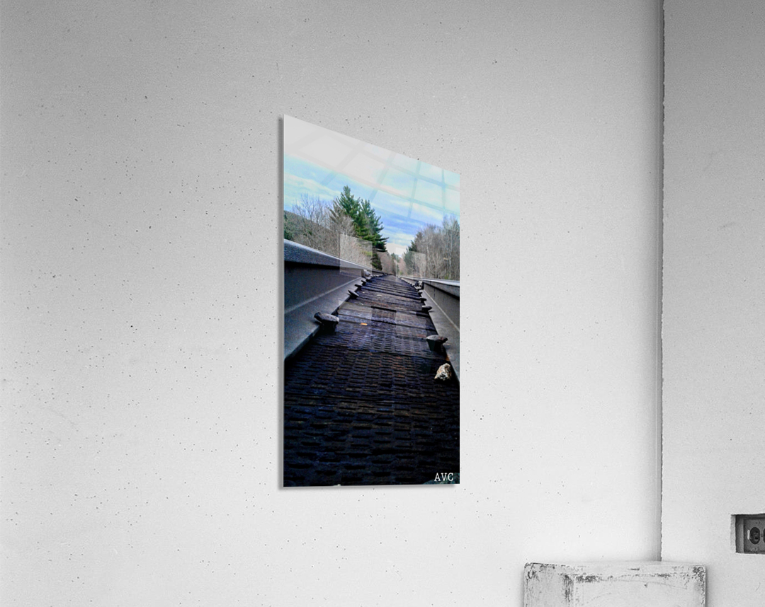 Tracks  Impression acrylique