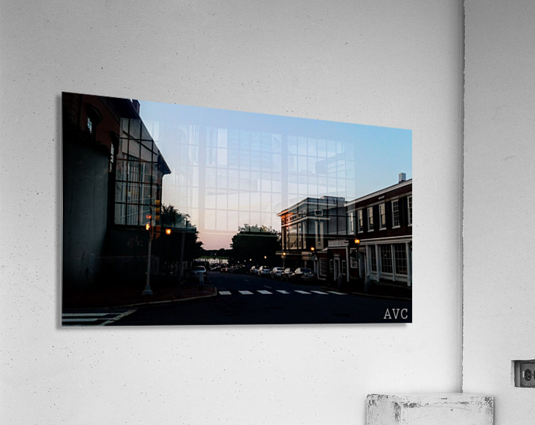 Corner of Pleasant  Acrylic Print
