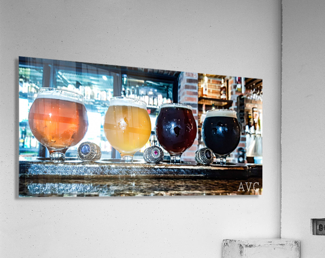 Good Beer with Good Friends  Acrylic Print