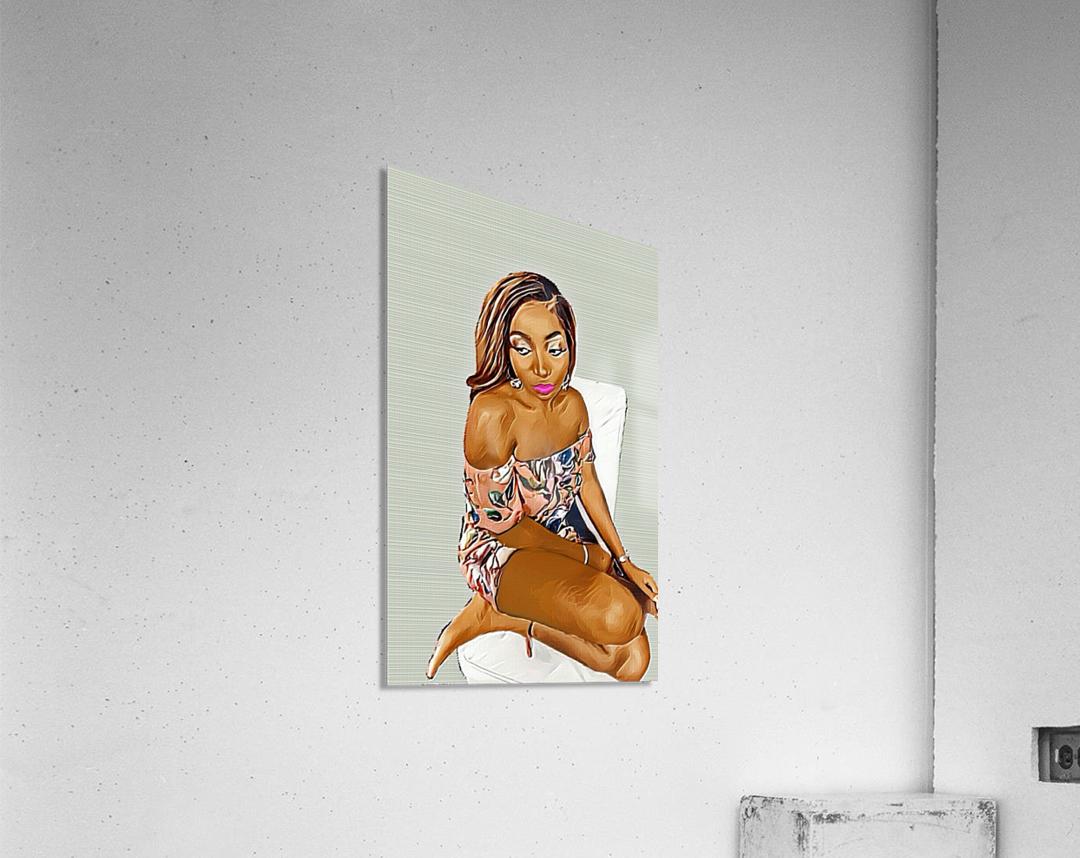 Reminisce  Impression acrylique