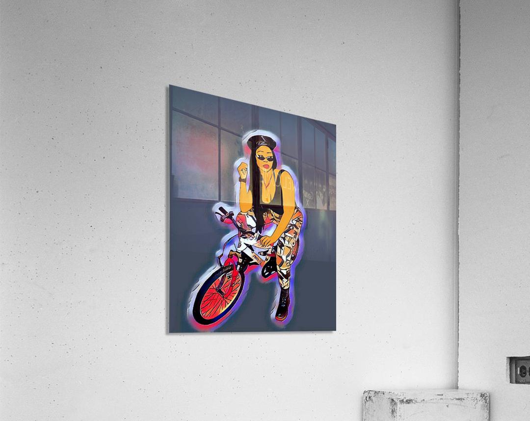 Go Go Go Shorty  Acrylic Print