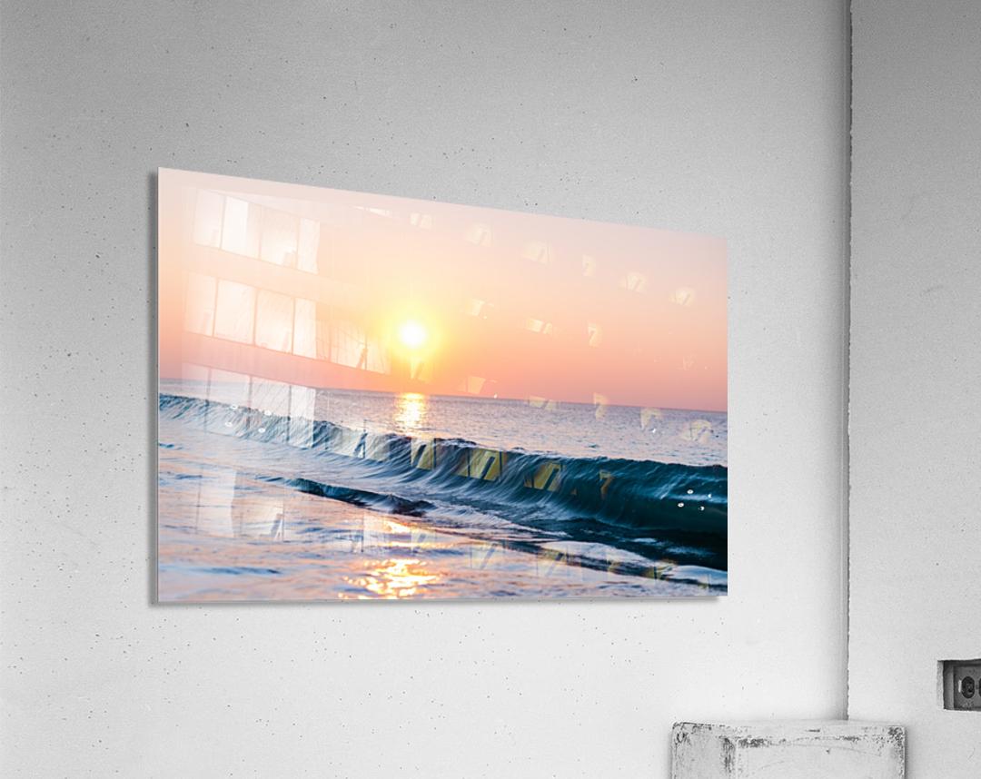 Smooth Wave   Acrylic Print