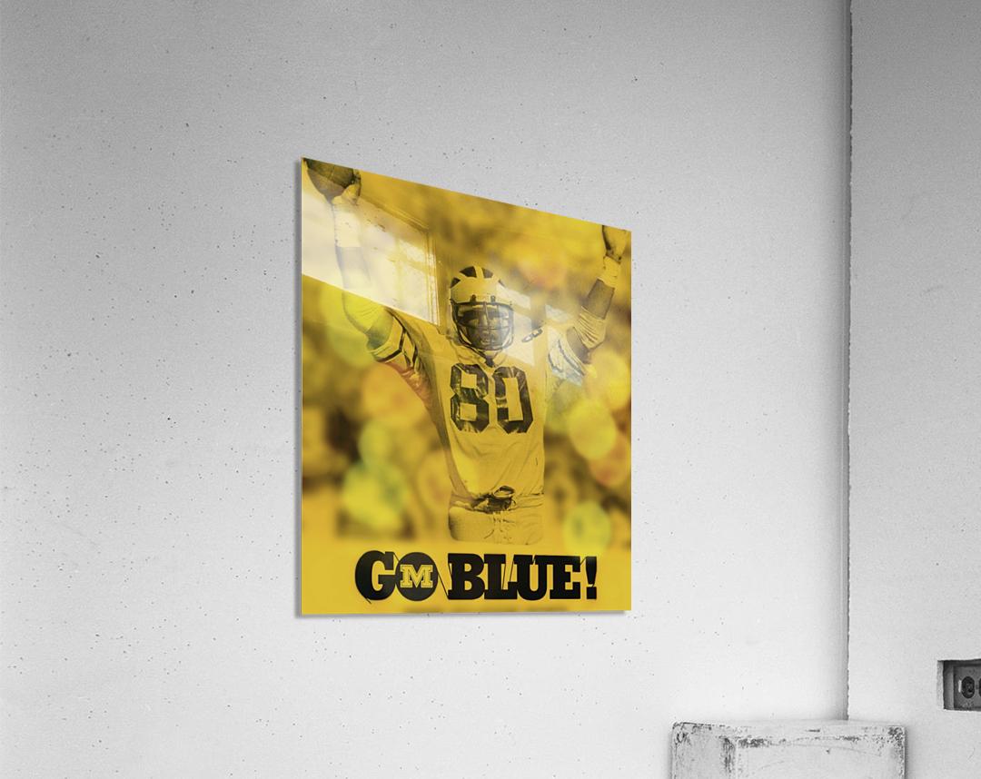 1979 michigan football go blue  Acrylic Print